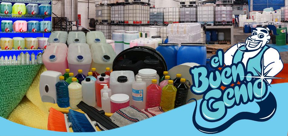 Productos de limpieza a granel el buen genio haga for Articulos de casa